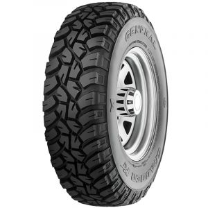 General Tire 33X12.50R15LT 108Q LRC FR Grabber MT 6PR