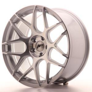 JR Wheels JR18 19x9,5 ET35 5x112 Silver Machined Face