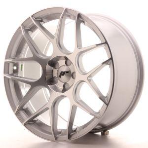 JR Wheels JR18 19x9,5 ET20-35 5H BLANK Silver Machined Face