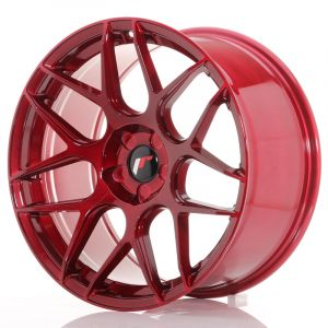 JR Wheels JR18 19x9,5 ET22-35 5H BLANK Platinum Red