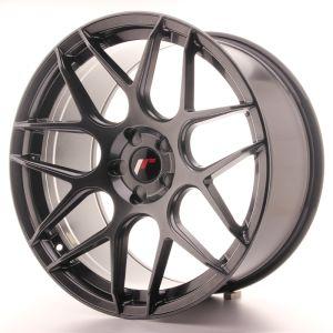JR Wheels JR18 20x10 ET20-45 5H BLANK Hyper Black