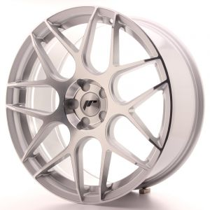 JR Wheels JR18 20x8,5 ET20-40 5H BLANK Silver Machined Face