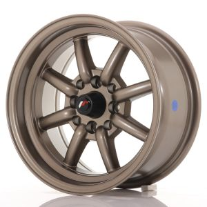JR Wheels JR19 14x7 ET0 4x100/114 Matt Bronze