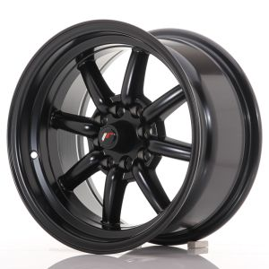 JR Wheels JR19 15x8 ET0 4x100/114 Matt Black