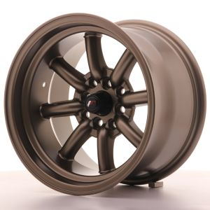 JR Wheels JR19 15x9 ET-13 4x100/114 Matt Bronze