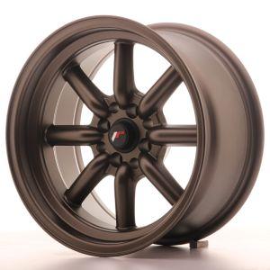 JR Wheels JR19 16x8 ET-20 4x100/114 Matt Bronze