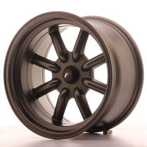 JR Wheels JR19 16x9 ET-25-(-15) BLANK MatBronz