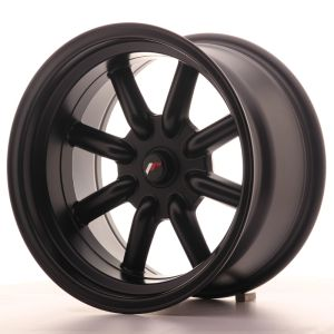JR Wheels JR19 16x9 ET-25-(-15) BLANK Matt Black