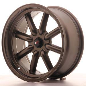JR Wheels JR19 17x8 ET0 BLANK Matt Bronze