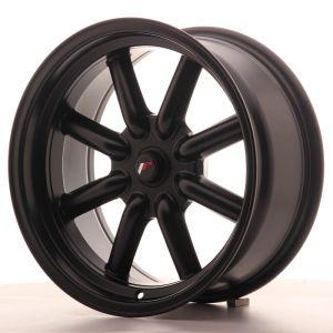 JR Wheels JR19 17x8 ET0 BLANK Matt Black
