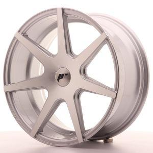 JR Wheels JR20 18x8,5 ET25-40 BLANK Silver Machined Face