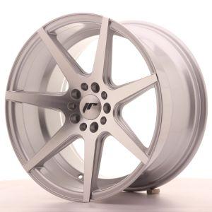JR Wheels JR20 18x9,5 ET35 5x100/120 Silver Machined Face
