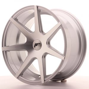 JR Wheels JR20 18x9,5 ET40 BLANK Silver Machined Face