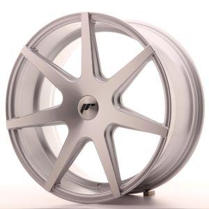 JR Wheels JR20 19x8,5 ET35-40 BLANK Silver Machined Face