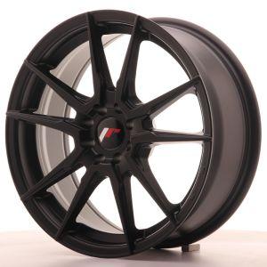 JR Wheels JR21 17x7 ET40 5x108/112 Matt Black