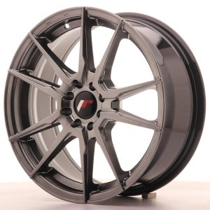 Japan Racing JR21 17x7 ET40 5x108/112 Hyper Gray