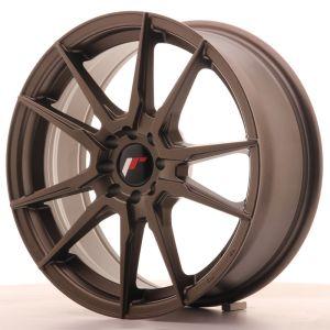 JR Wheels JR21 17x7 ET25 4x100/108 Matt Bronze