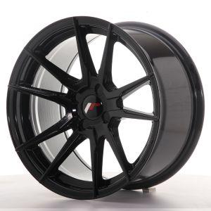 JR Wheels JR21 17x9 ET25-35 4H BLANK Gloss Black