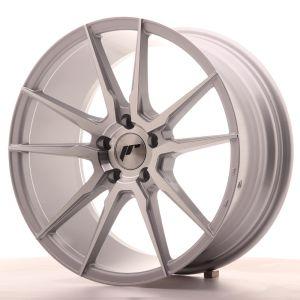 JR Wheels JR21 18x8,5 ET40 5x112 Silver Machined Face