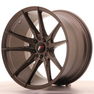 JR Wheels JR21 19x11 ET25 5x114/120 Matt Bronze