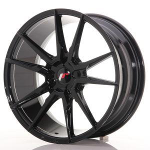 JR Wheels JR21 19x8,5 ET20-43 5H BLANK Gloss Black