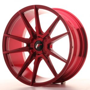 JR Wheels JR21 19x8,5 ET20-43 5H BLANK Platinum Red