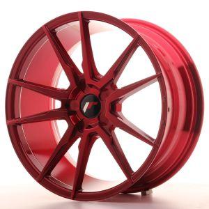 JR Wheels JR21 19x8,5 ET35-43 5H BLANK Platinum Red