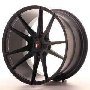 JR Wheels JR21 20x11 ET30-50 5H BLANK Matt Black