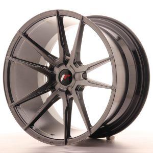 JR Wheels JR21 20x11 ET30-50 5H BLANK Hyper Black