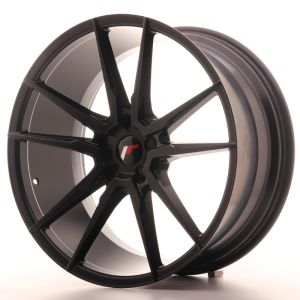 JR Wheels JR21 21x10 ET15-48 5H BLANK Matt Black