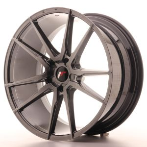 Japan Racing JR21 21x10 ET15-48 5H Blank Hyper Gray