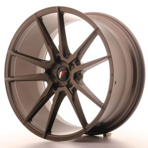 JR Wheels JR21 21x10 ET15-48 5H BLANK Matt Bronze