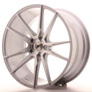 JR Wheels JR21 22x10,5 ET15-52 5H BLANK Silver