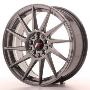 JR Wheels JR22 17x7 ET35 4x100/114 Hyper Black