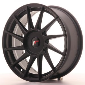 JR Wheels JR22 17x7 ET35-40 BLANK Matt Black