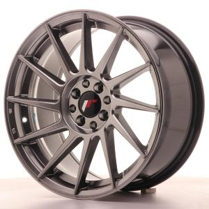 JR Wheels JR22 17x8 ET35 5x100/114 Hyper Black