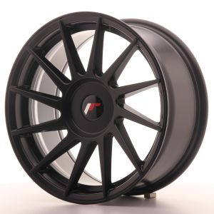 JR Wheels JR22 17x8 ET25-35 BLANK Matt Black