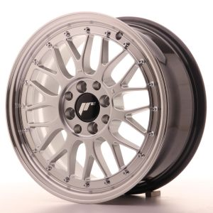 JR Wheels JR23 16x7 ET40 4x100/114,3 Hyper Silver w/Machined Lip