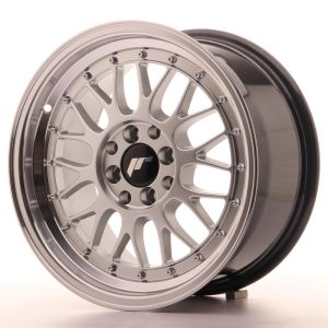 JR Wheels JR23 16x8 ET35 4x100/114,3 Hyper Silver w/Machined Lip