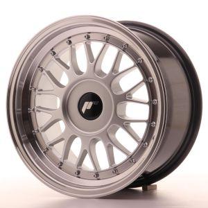 JR Wheels JR23 16x8 ET20-45 BLANK Hyper Silver w/Machined Lip