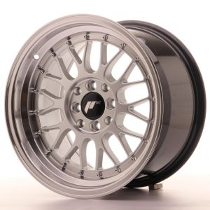 JR Wheels JR23 16x9 ET35 4x100/114,3 Hyper Silver w/Machined Lip