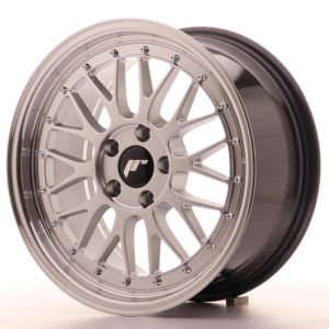 JR Wheels JR23 17x8 ET35 5x100 Hyper Silver w/Machined Lip