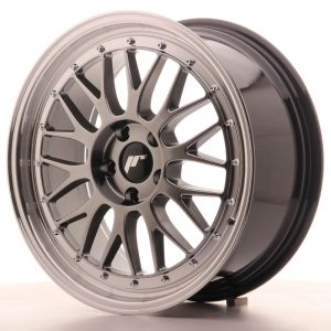 JR Wheels JR23 18x8 ET40 5x112 Hyper Black w/Machined Lip