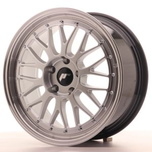 JR Wheels JR23 18x8 ET40 5x112 Hyper Silver w/Machined Lip