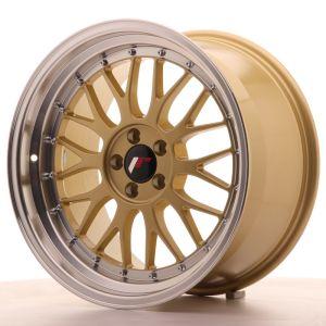 JR Wheels JR23 18x9,5 ET42 5x112 Gold w/Machined Lip