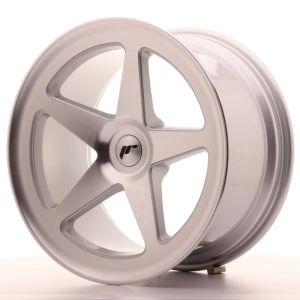 JR Wheels JR24 18x9,5 ET25-32 BLANK Silver Machined Face