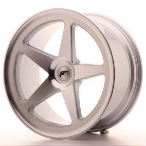 JR Wheels JR24 19x9,5 ET20-40 BLANK Silver Machined Face