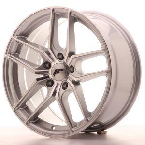 JR Wheels JR25 18x8,5 ET35 5x120 Silver Machined Face