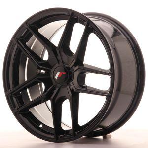 JR Wheels JR25 18x8,5 ET20-40 5H BLANK Gloss Black