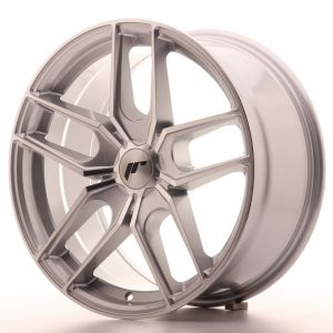 JR Wheels JR25 18x8,5 ET40 5H BLANK Silver Machined Face